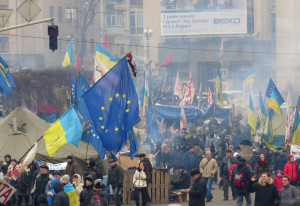 Protests in Ukraine. Source: Creative Commons