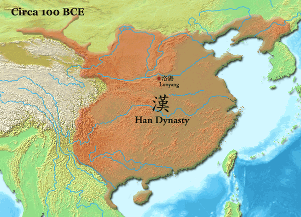 Han Empire. Creative Commons.