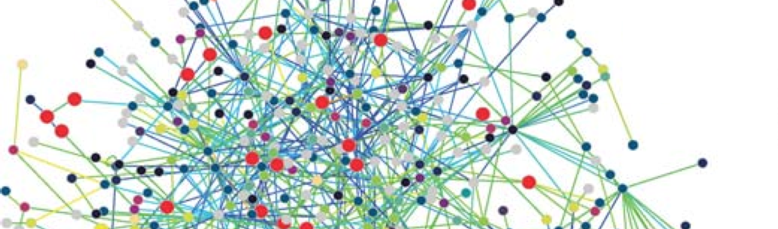 A visualization of network science. Source: Wikipedia