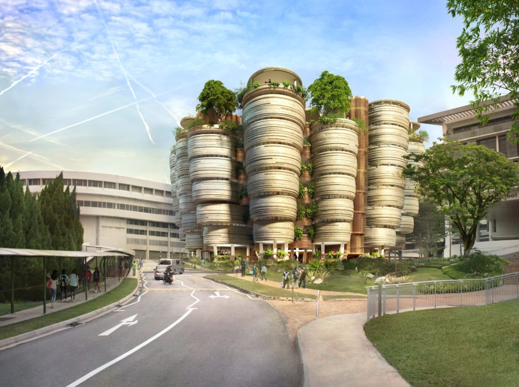 The Hive, workshop venue, Nanyang Technological University