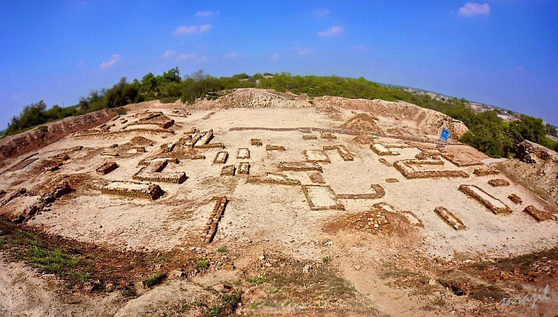 Harappa archeological site.